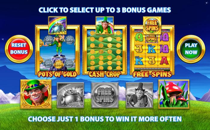 Rainbow Riches Pick n Mix Bonus Feature
