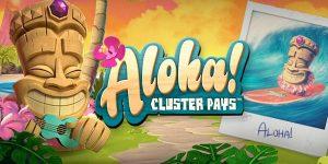 Aloha! Cluster Pays NetEnt