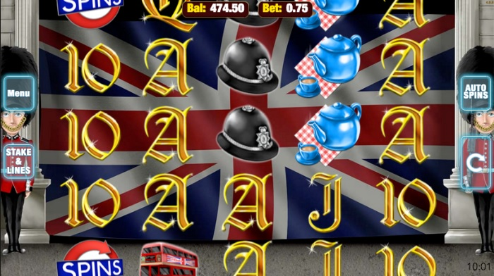 Best of British Free Spins Gameplay