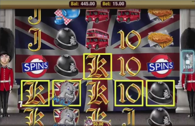 Best of British Slot Small Win