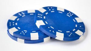 Blue Casino Chips