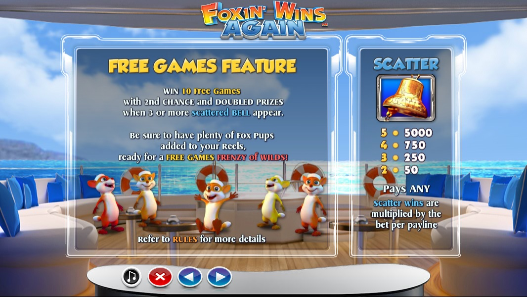 Foxin' Wins Again Extra Spins