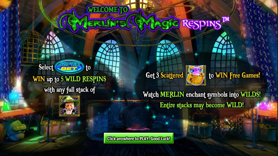 Merlin's Magic Respins Game Introduction
