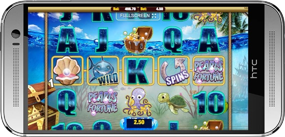 Pearls Fortune Slot Small Win