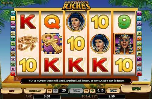 Ramesses Riches Screenshot
