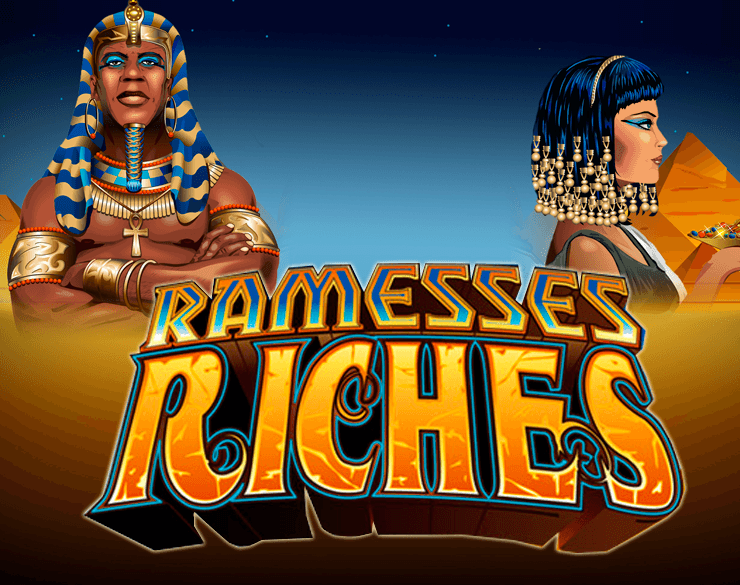 Ramesses Riches Slot Logo