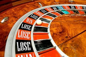 Roulette Wheel Win Lose