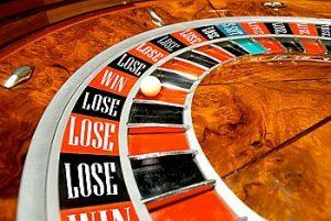 Roulette Wheel Win Lose
