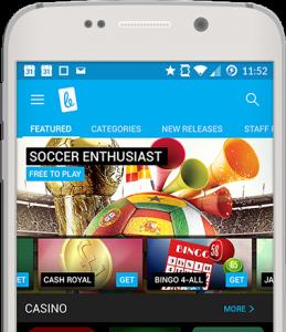 Betcade in Smartphone