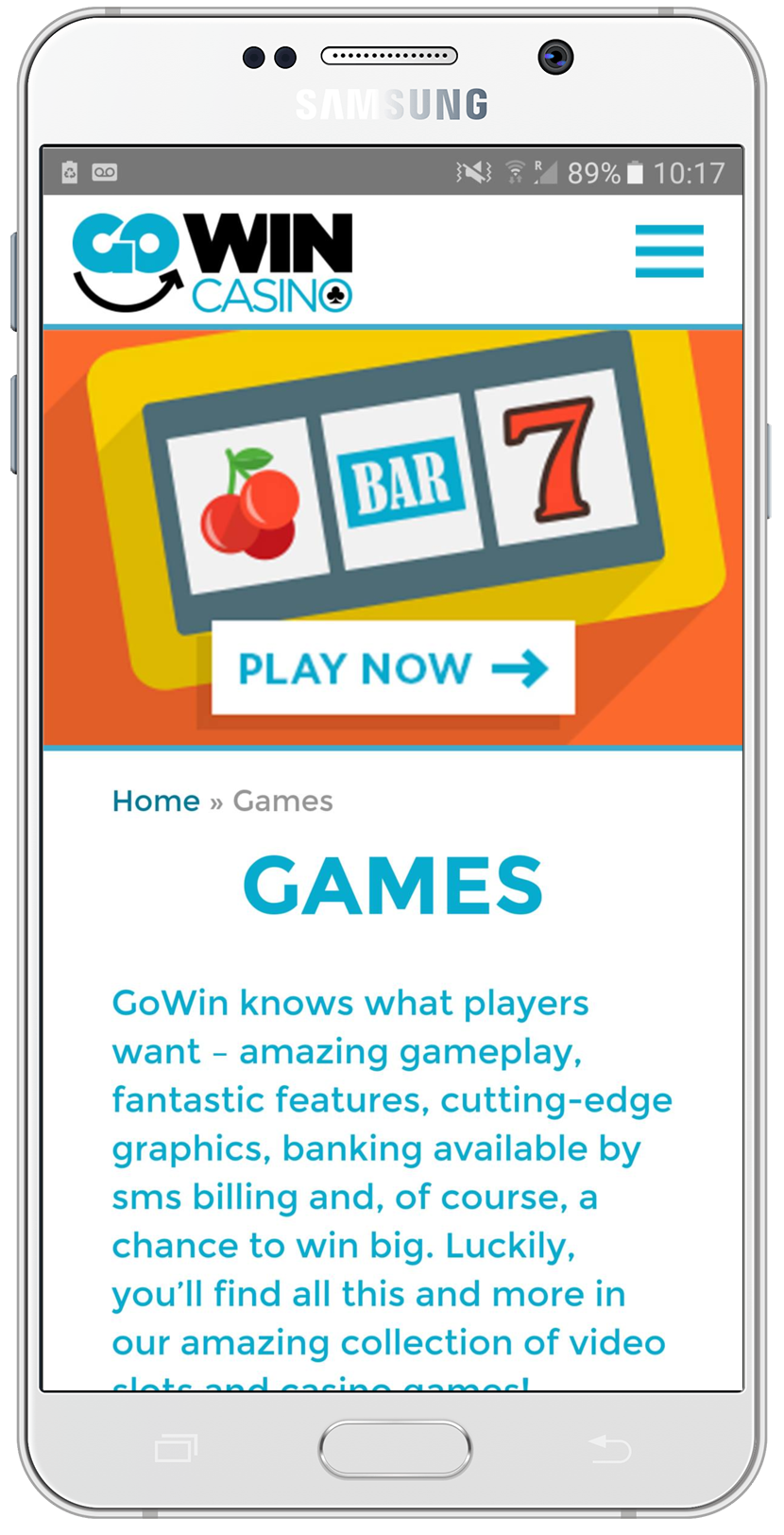 GoWin Games in Phone