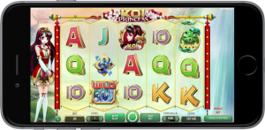 koi princess iphone 1