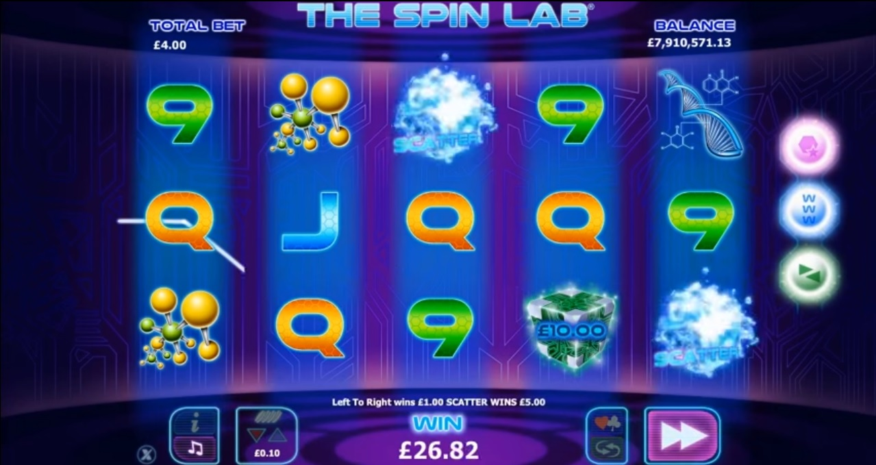 The Spin Lab Big Win