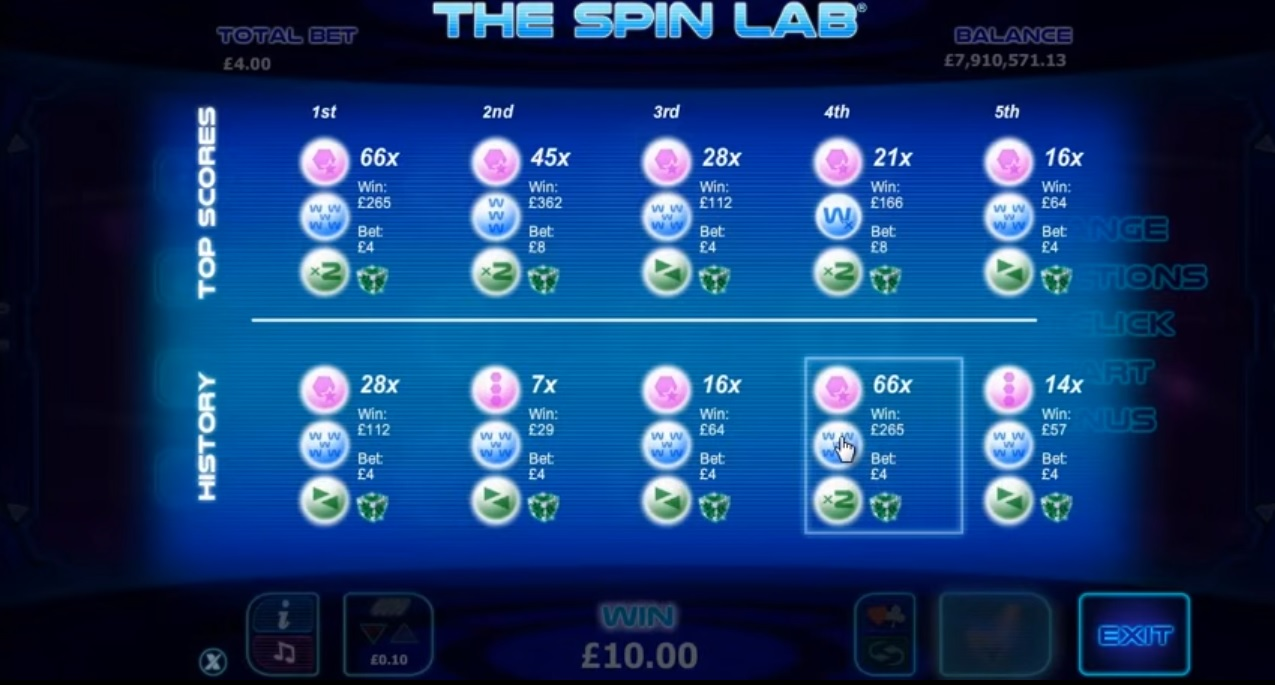 The Spin Lab Feature Combination
