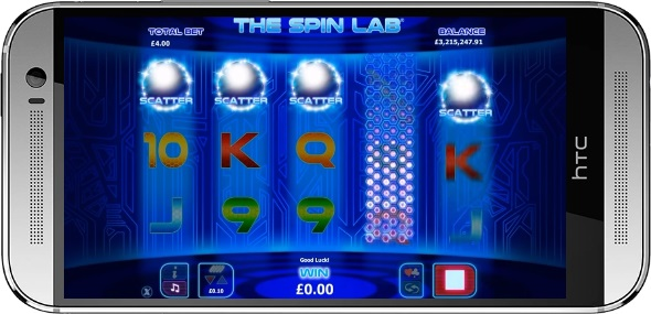 The Spin Lab Extra Spins Trigger