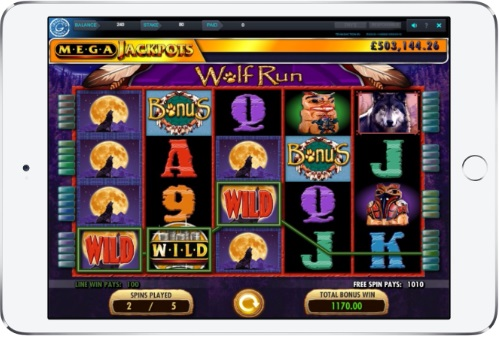 Wolf Run Free Spins Gameplay
