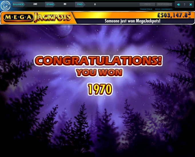 Wolf Run Free Spins Super Big Win