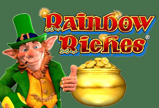 rainbow riches game logo