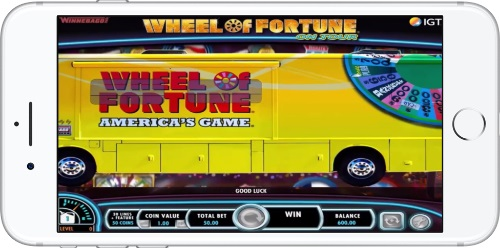 Wheel of Fortune on Tour Game Introduction