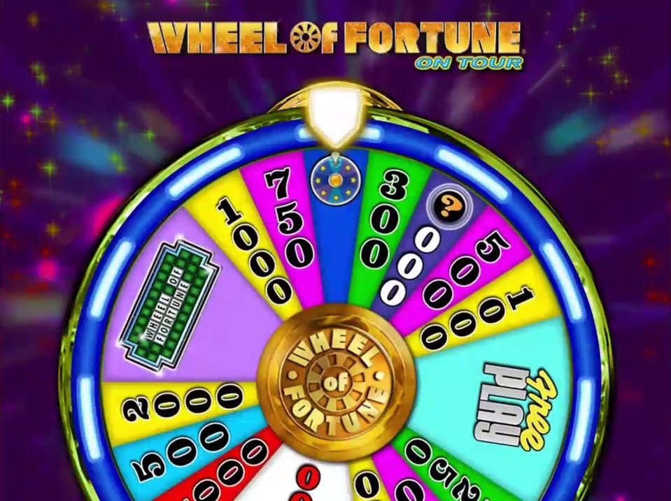Wheel of Fortune on Tour Wheel Feature