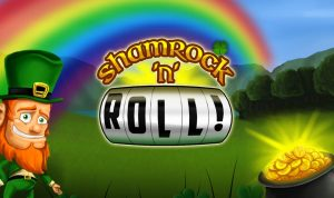 shamrock-n-roll-slot-logo