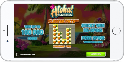 Aloha Cluster Pays Game Introduction