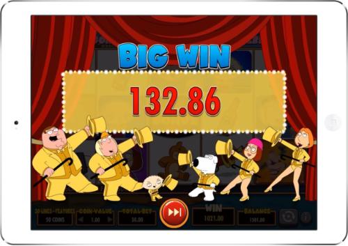 Family Guy Super Big Win