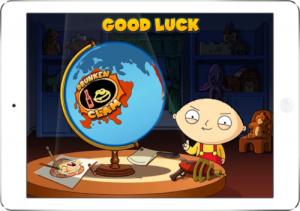 Family Guy World Bonus Graphics