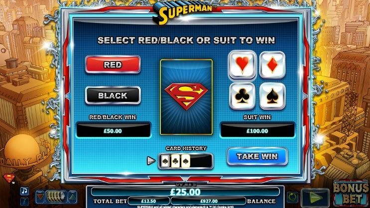 Superman Gamble Feature