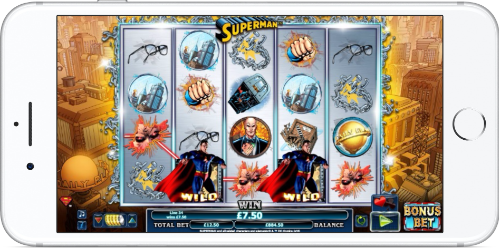 Online Slot Superman Small Win