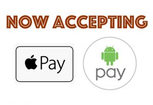 android pay and apple pay accepted