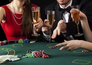 Casino High Roller Champagne Table Games