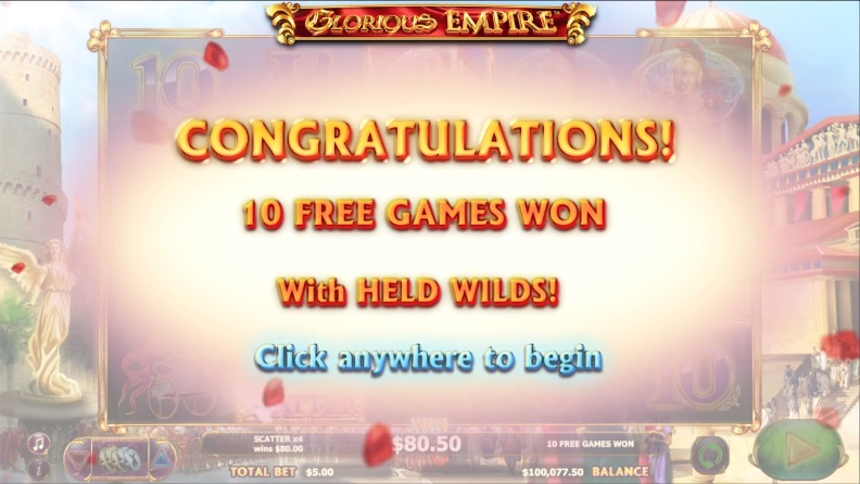 Glorious Empire Free Games Trigger