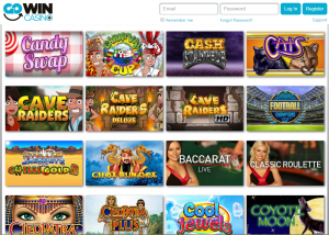 GoWin Casino Games Lobby