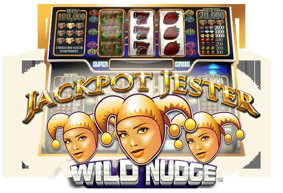 Jackpot Jester Wild Nudge Game