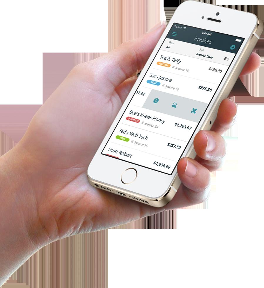 mobile invoicing