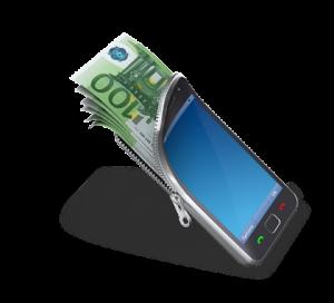 mobile phone money