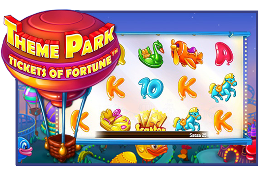 Theme Park Tickets of Fortune Game