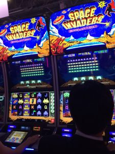 Scientific Games Space Invaders