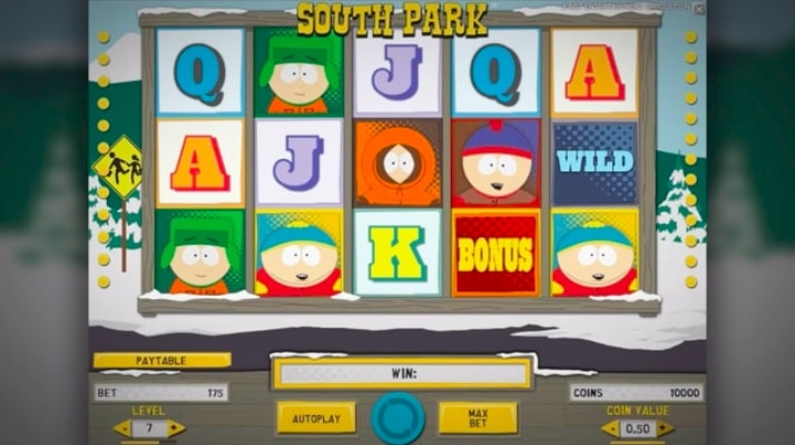 South Park Gameplay Screenshot