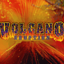 Volcano Eruption Banner