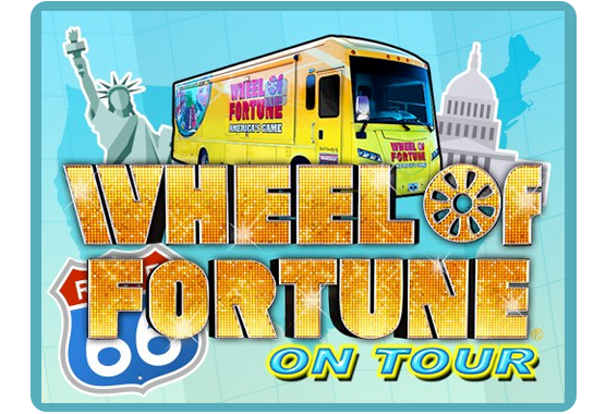 The Wheel of Fortune on Tour!