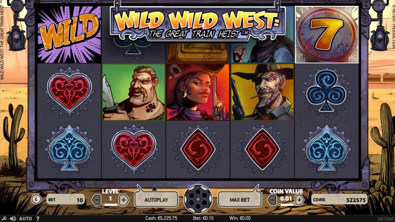 Wild Wild West Gameplay