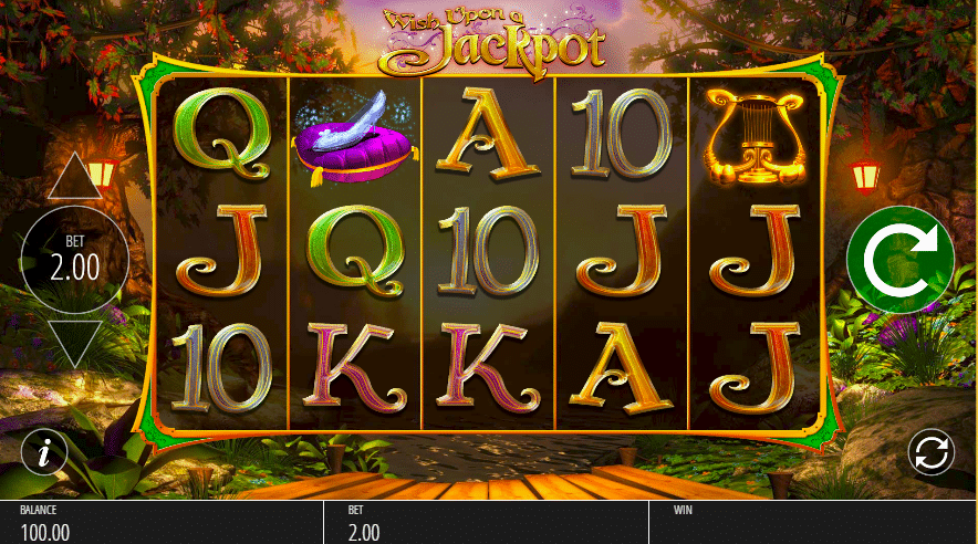 Wish Upon a Jackpot Slot Gameplay