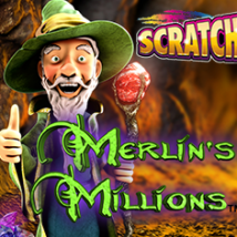 Merlin's Millions Scratch Banner