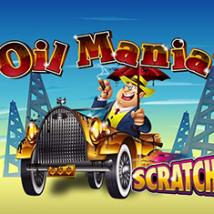 Oil Mania Scratch Banner