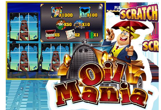 Oil Mania Scratch Game