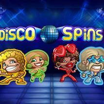 Disco Spins Logo Banner