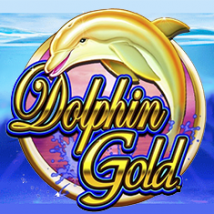 Dolphin Gold Banner