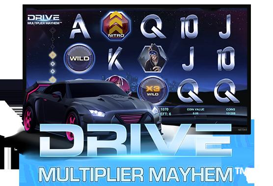 Drive: Multiplier Mayhem Game
