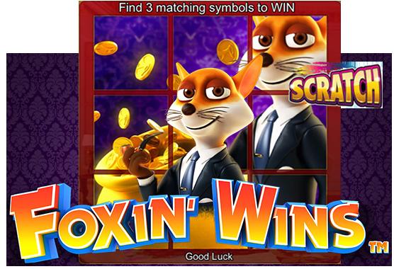 Foxin Wins Scratch Game